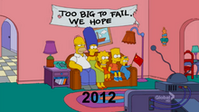 1989-2012 Couch Gag