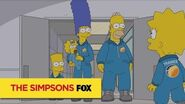 "THE SIMPSONS Faking It from ""The Marge-ian Chronicles"" ANIMATION on FOX"