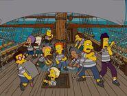 Kids on ship
