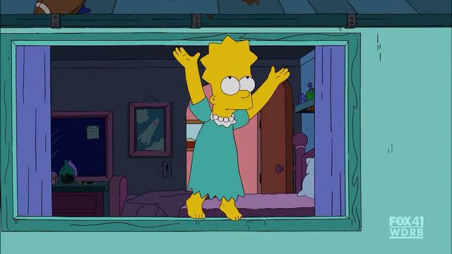 File:Bart in Lisa's dress.JPG
