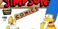 Simpsons Comics 196