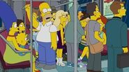 THE SIMPSONS Subway Issues FOX