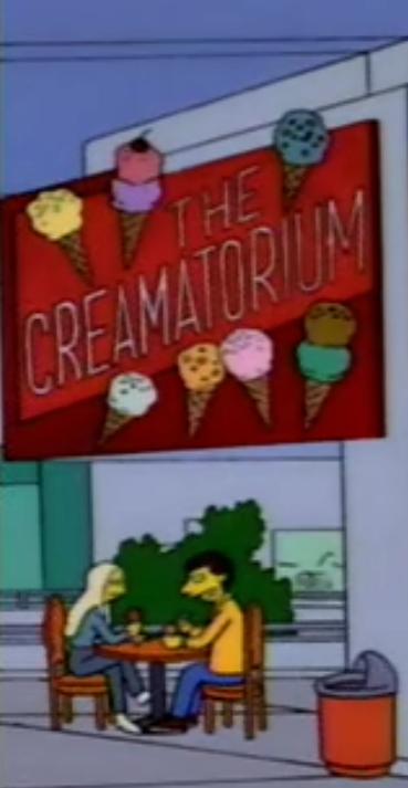 The Creamatorium   Simpsons Wiki   Fandom powered by Wikia