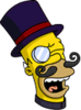 Evil Homer Maniacal Icon