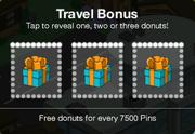 Travel Bonus Act 1