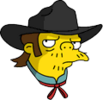 Outlaw Snake Annoyed Icon