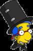 Magic Act Milhouse Happy Icon