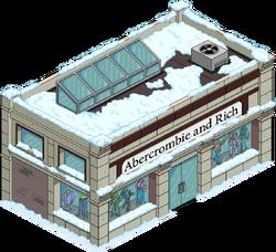 Abercrombie & Rich Snow Menu