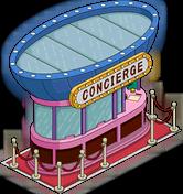 Casino Concierge Kiosk Menu