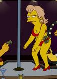 Mrs Muntz at a strip bar