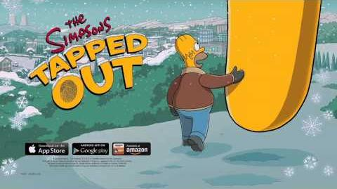 The Simpsons Tapped Out - Holiday Update Trailer 2013-0