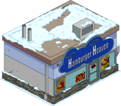 Hamburger Heaven Snow Menu