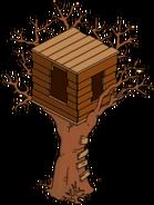 Halloween Bart's Treehouse
