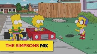 """THE SIMPSONS Cartoons from """"The Kids Are All Fight"""" ANIMATION on FOX"""