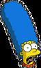 Marge Scream Icon