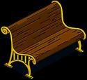 Ornate Pier Bench Icon