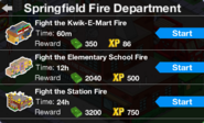 SFD rewards with all four firefighters unlocked