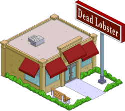 Dead Lobster Menu