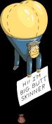Big Butt Skinner Balloon Flipped Menu