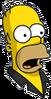 Pin Pal Homer Surprised Icon