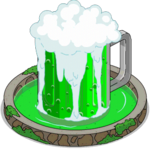 Green Beer Fountain Icon