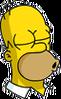 Homer Kissing Icon