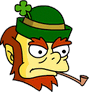 Leprechaun Angry Icon