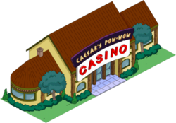 Caesar's Pow-Wow Casino Tapped Out