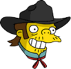 Outlaw Snake Happy Icon