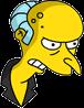 Pin Pal Burns Angry Icon