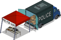 Pies for Guns Booth Menu