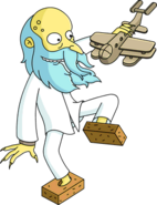 Reclusive Mr. Burns Unlock