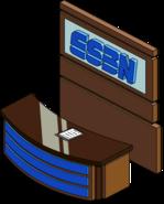 ESBN Sports Desk Flipped Menu