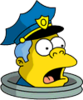 Beer Stein Wiggum Surprised Icon