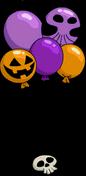 Halloween Balloons Menu