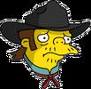 Outlaw Snake Sad Icon