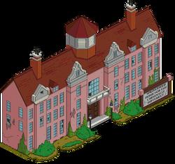 Springfield Asylum Menu