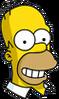 Homer Happy Icon