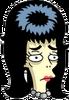 Cavegirl Booberella Sad Icon