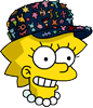 Pin Collector Lisa Happy Icon