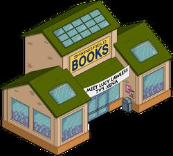 Springfield Books Menu