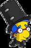 Magic Act Milhouse Sad Icon