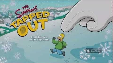 The Simpsons Tapped Out Winter Update