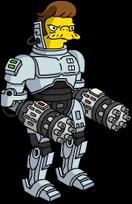 Cyborg Snake Menu