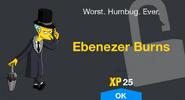 Ebenezer Burns Unlock Screen