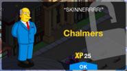 Chalmers Unlock Screen