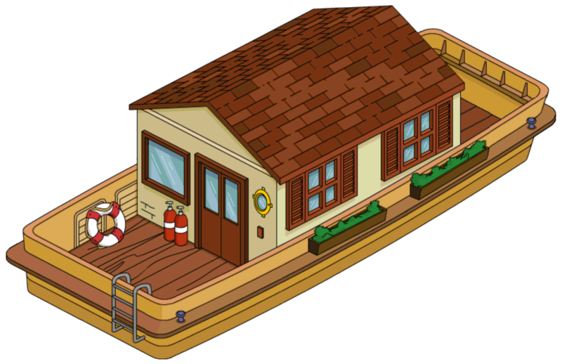 houseboat clipart - photo #47