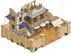 Bandit Fort Menu
