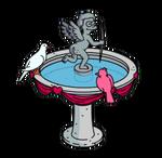 Cherubbirdbath