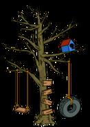 Halloween Tree Swing